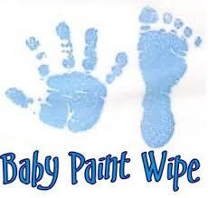 赤ちゃん 手型