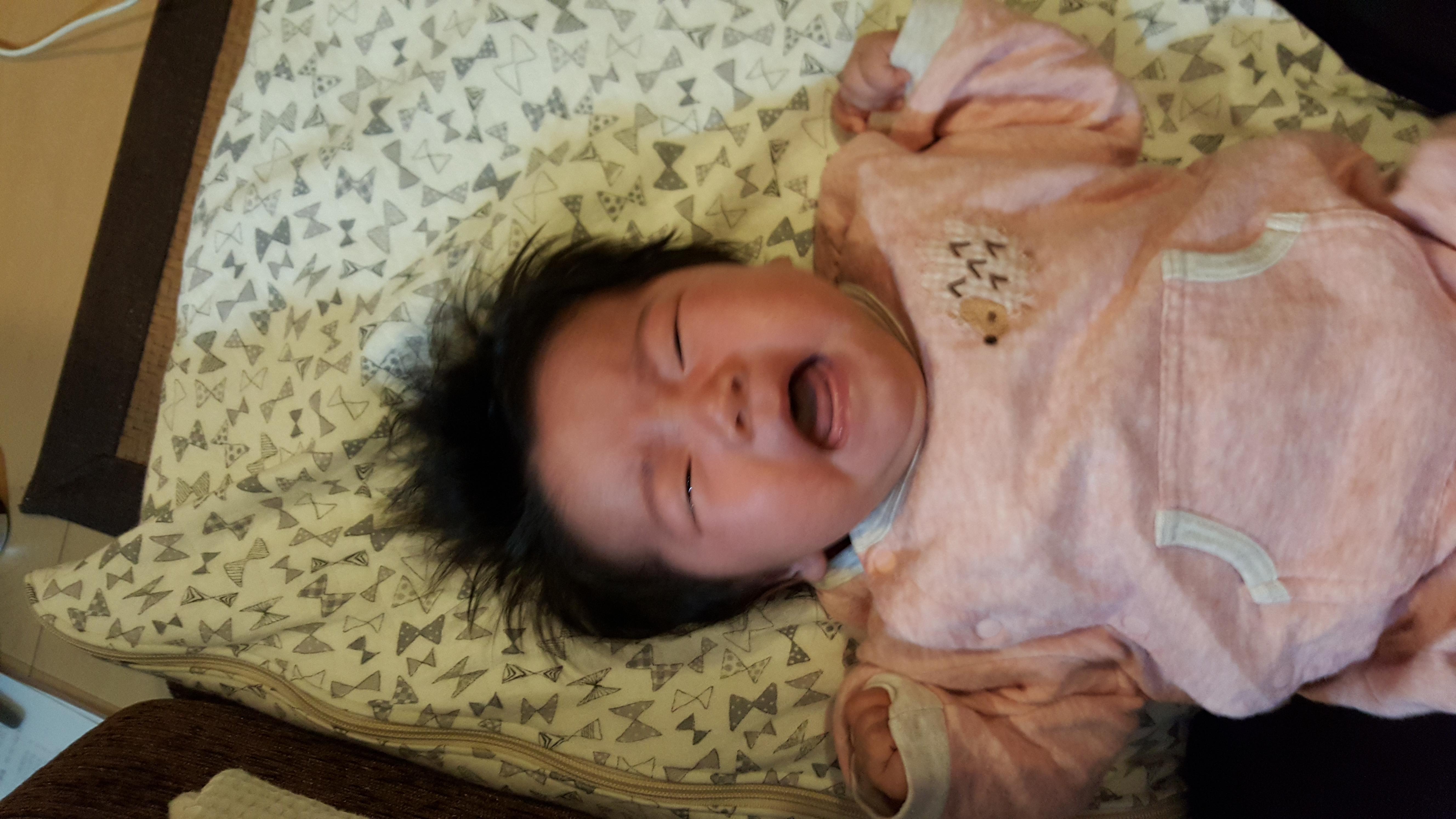 赤ちゃんの世話