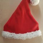 【赤ちゃん】クリスマスは手作りサンタ帽子でかわいくコスプレ!