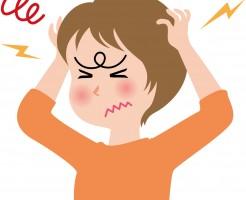 ストレス 女性 画像