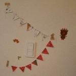 【型紙不要】100均素材の手作りクリスマスガーランドを紹介!