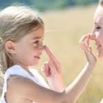 赤ちゃん・子供におすすめの日焼け止め・虫除け対策は無添加アロベビー♪